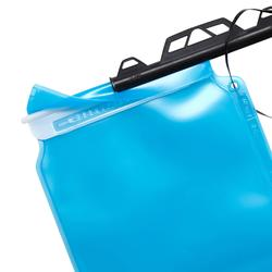 TREK500 trekking water bladder 1 litre blue