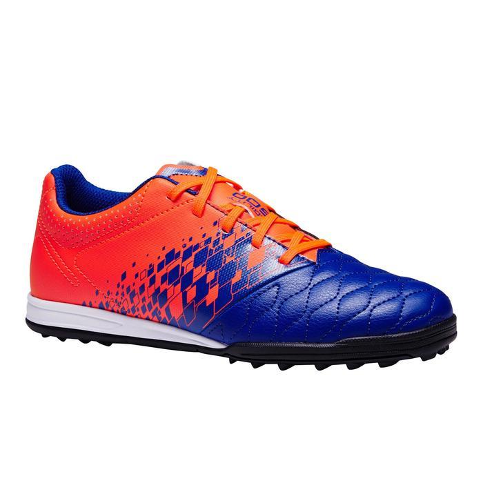 Fußballschuhe Multinocken Agility 500 HG Kinder blau/orange