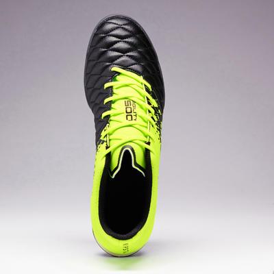 حذاء خفيف لكره القدم 5000 HG للكبار- أسود/ أخضر
