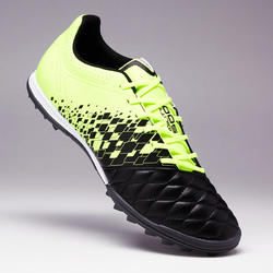 Adult Hard Ground Football Boots Agility 500 - Black/Yellow