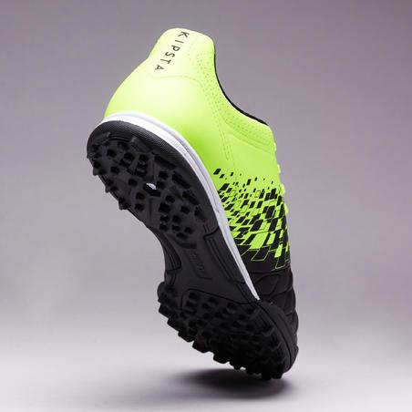 Agility 500 HG Sepatu Sepak Bola Dewasa Lapangan Keras - Hitam/Kuning
