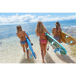 Bas de maillot de bain de surf FEMME SOFY JAZZ BLEU