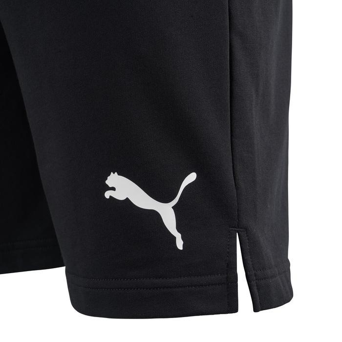 Herenshort Active Puma 100 voor gym en stretching zwart