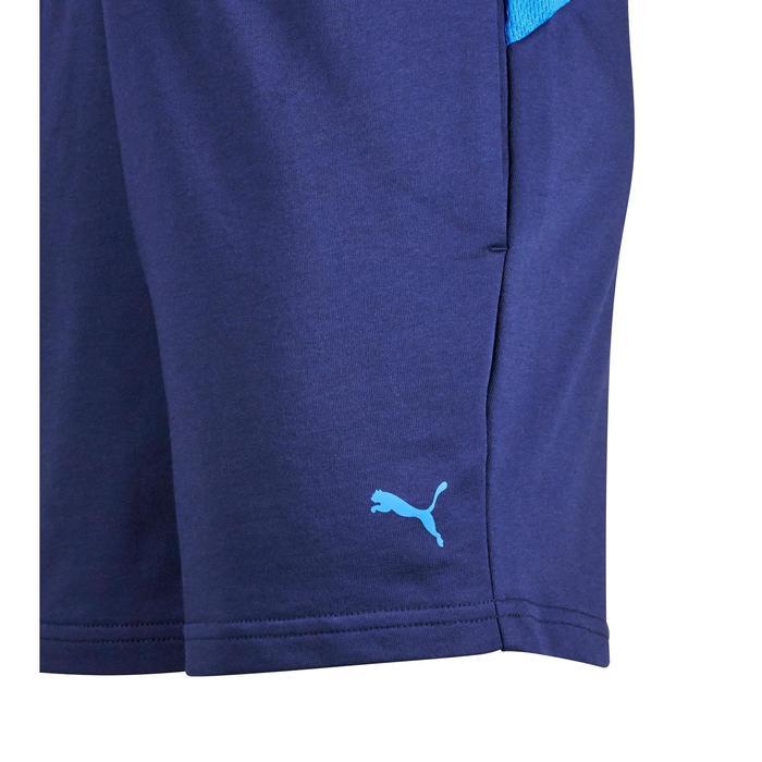 Short Gym garçon bleu - 1353004
