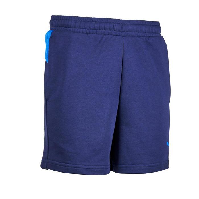 Short Gym garçon bleu - 1353019