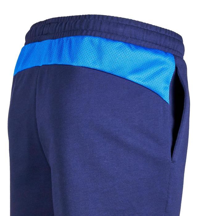 Short Gym garçon bleu