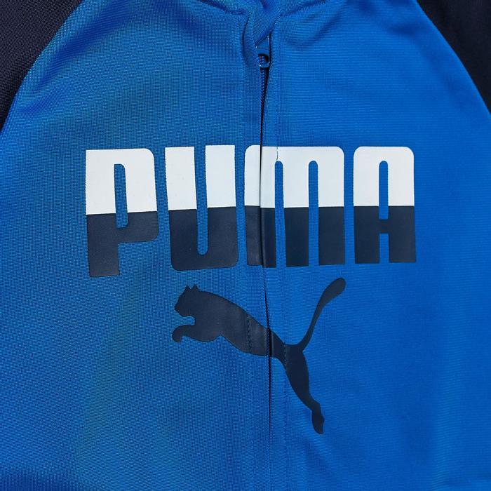 Chándal Gimnasia Puma Garcon Poly Bebé 12 Meses - 4 Años Azul