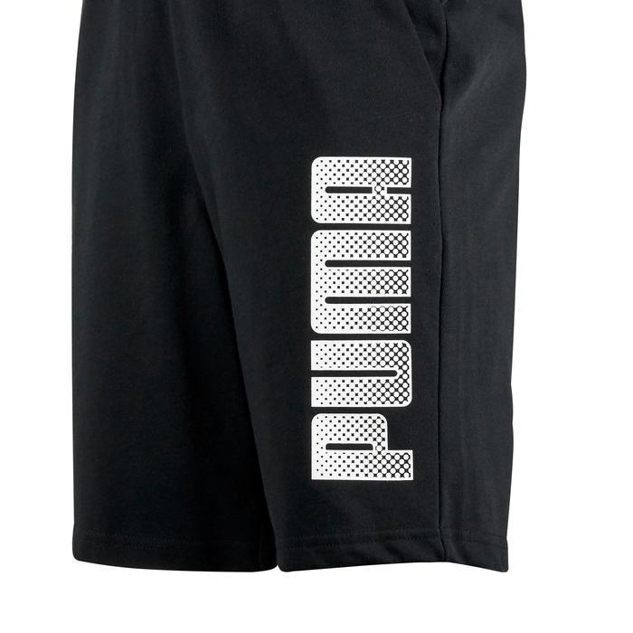 Short Gym garçon noir imprimé - 1353066