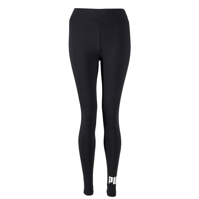 Leggings Essential 100 Gym Stretching Damen schwarz