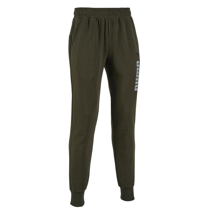 Pantalon Puma 500 Gym Stretching homme kaki