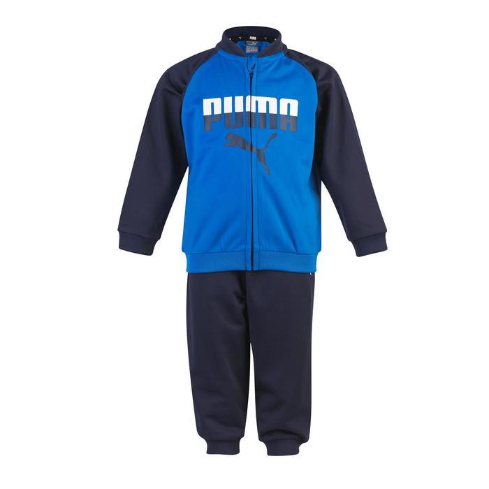 Chándal gimnasia infantil niños azul azul