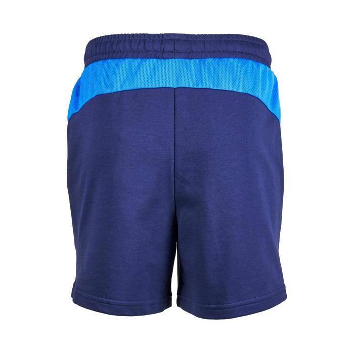 Gymshort voor jongens blauw
