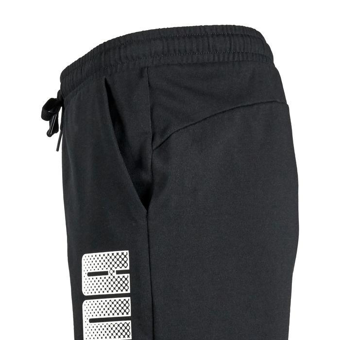 Short Gym garçon noir imprimé