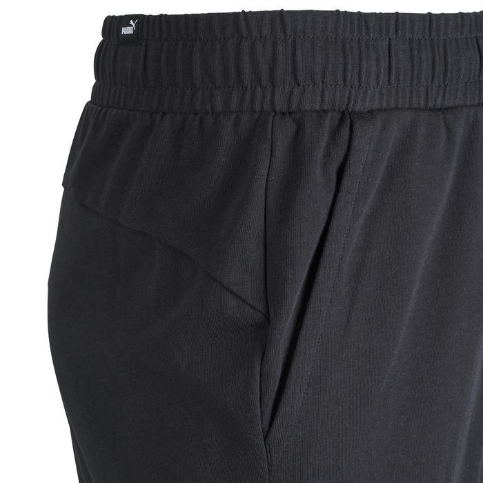 Sporthose kurz 100 Gym Stretching Herren schwarz
