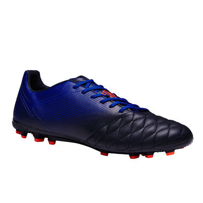 حذاء طويل للكبار للعب في ملاعب النجيل الصناعي Agility 700 HG- أزرق غامق