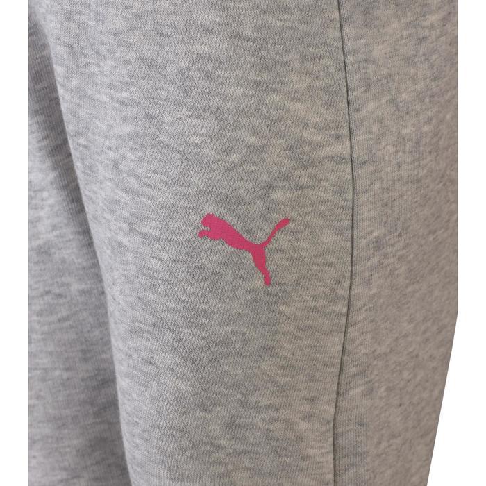 Survêtement Baby Gym fille gris rose
