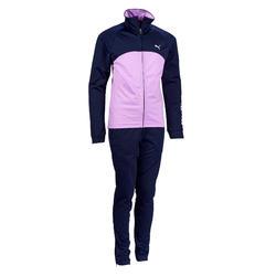 Chándal gimnasia niña azul rosa