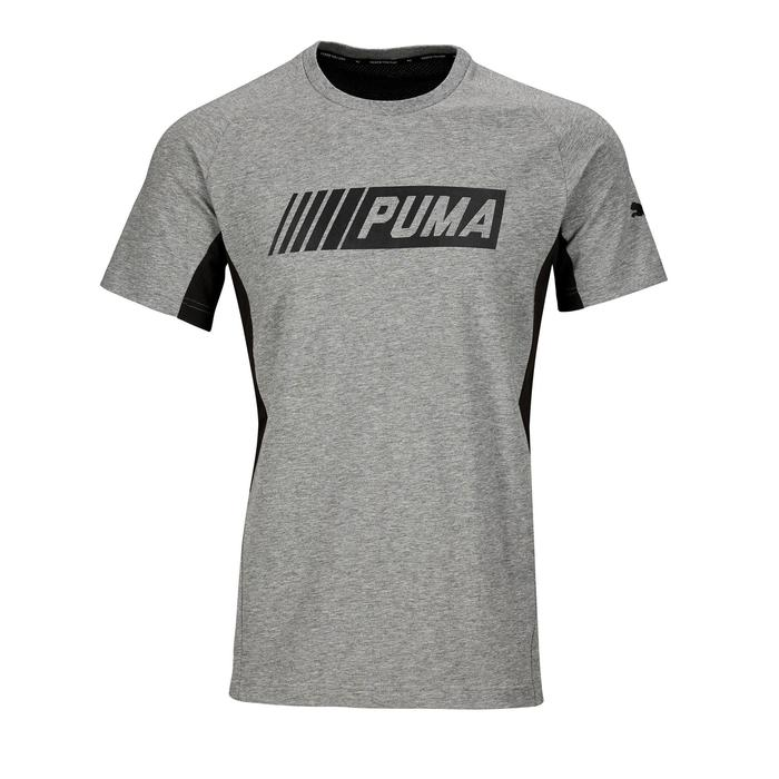 T-shirt Active 2 Puma 100 Gym Stretching homme gris - 1353213