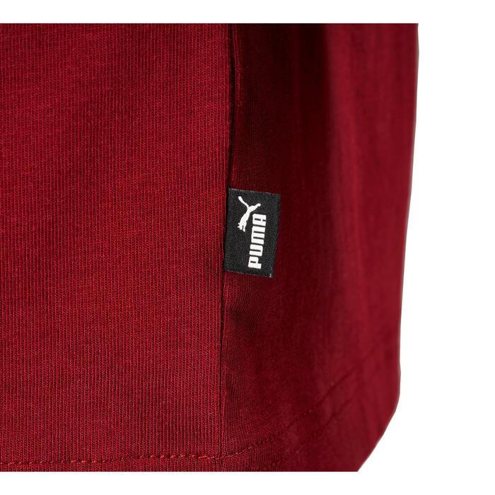 Heren T-shirt Puma 100 voor gym en stretching bordeaux