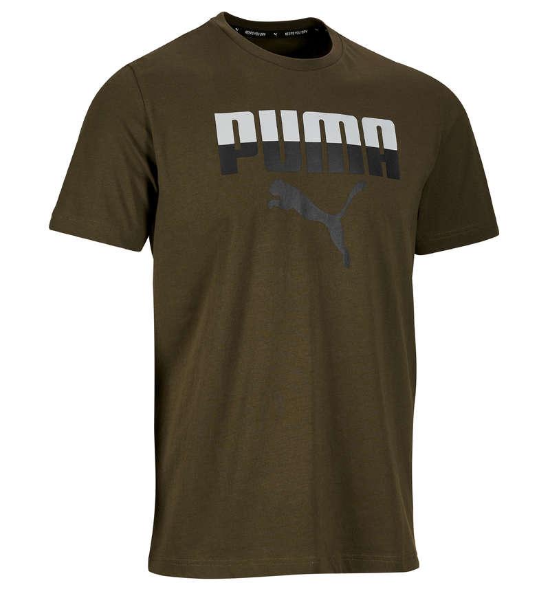 MAN GYM, PILATES APPAREL - 100 Gym T-Shirt - Khaki PUMA