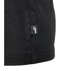Gym T-shirt met korte mouwen voor jongens zwart print