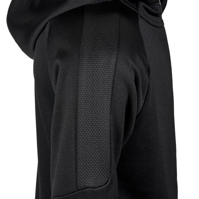 Veste capuche Gym garçon noir - 1353264