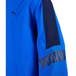 Trainingspak gym jongens blauw PUMA