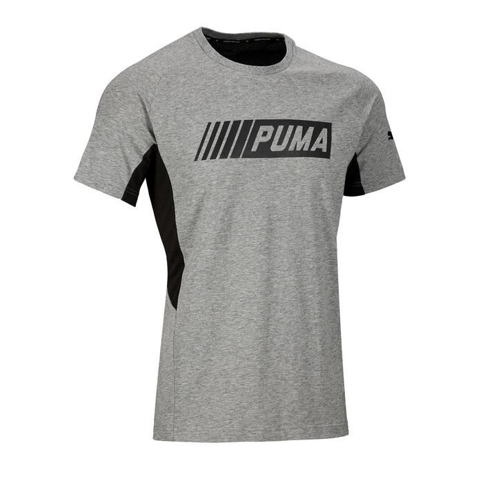 T-shirt Active 2 Puma 100 Gym Stretching homme gris - 1353288