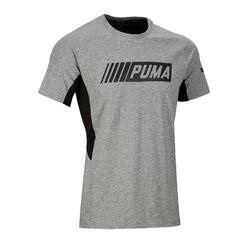 T-shirt Active 2 Puma 100 Gym Stretching homme gris