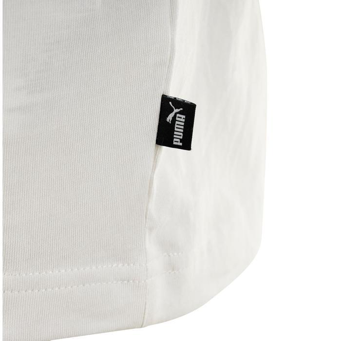Camiseta Logotipo Puma 100 Gimnasia Stretching blanco hombre