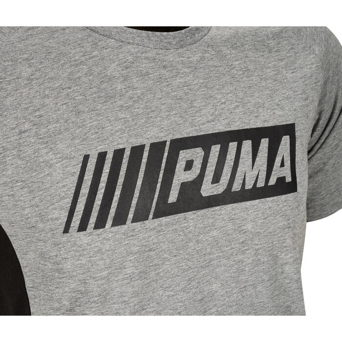 T-shirt Active 2 Puma 100 Gym Stretching homme gris - 1353299