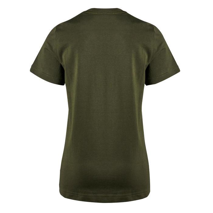 T-Shirt manches courtes Gym garçon kaki imprimé - 1353312