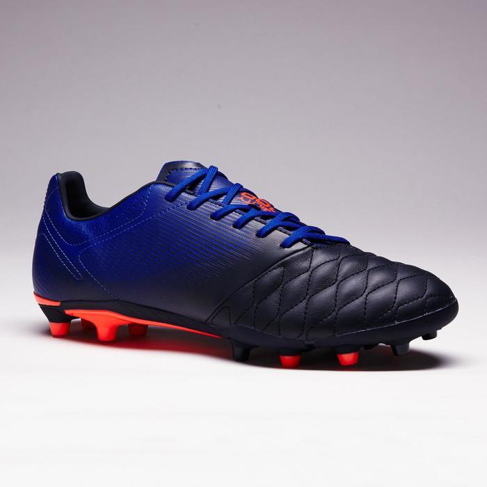 Chaussure de football adulte terrains secs Agility 900 FG noire grise - 1353325