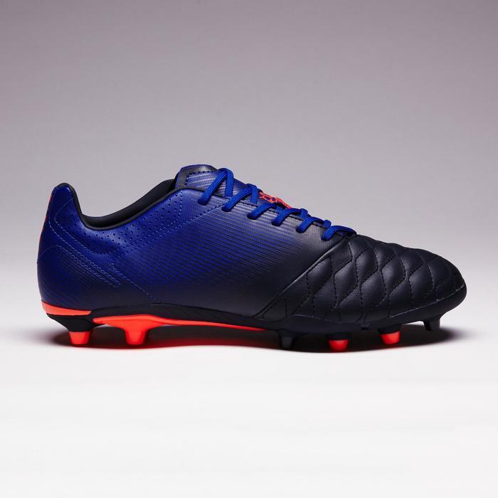 Chaussure de football adulte terrains secs Agility 900 FG noire grise - 1353326