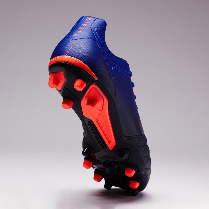 Chaussure de football adulte terrains secs Agility 900 FG noire grise - 1353329
