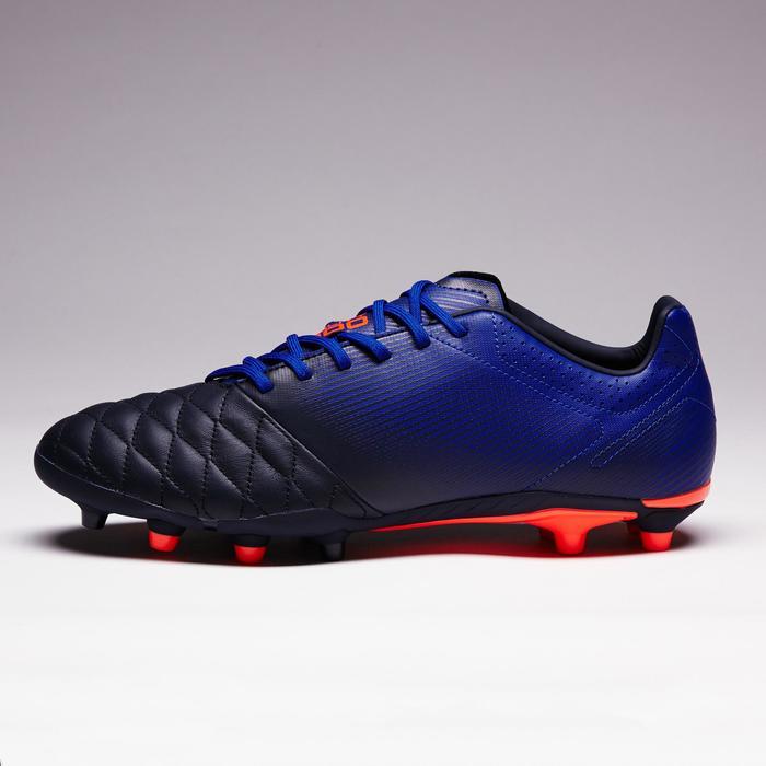 Chaussure de football adulte terrains secs Agility 900 FG noire grise - 1353333