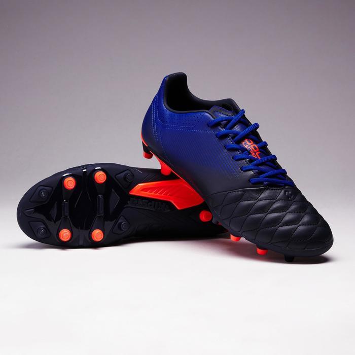 Chaussure de football adulte terrains secs Agility 900 FG noire grise - 1353335