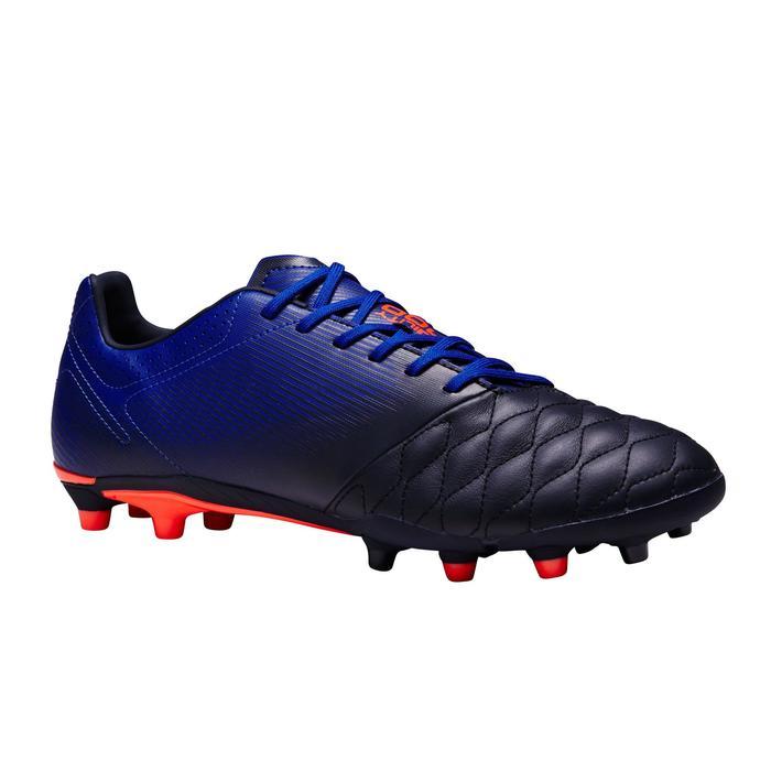 Chaussure de football adulte terrains secs Agility 900 FG noire grise - 1353336