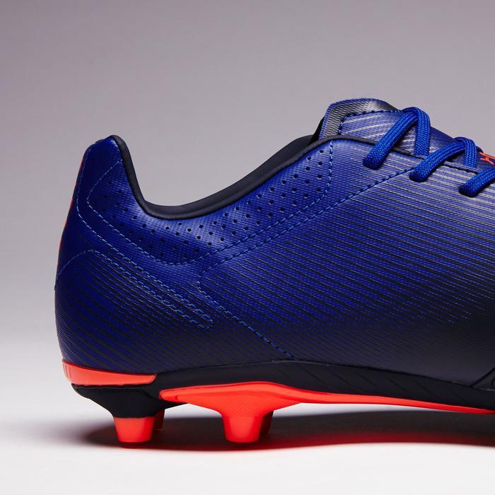 Chaussure de football adulte terrains secs Agility 900 FG noire grise - 1353337