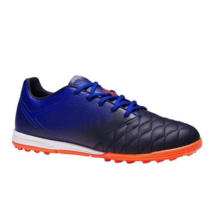青少年短釘足球鞋 Agility 700 HG - 黑色/藍色