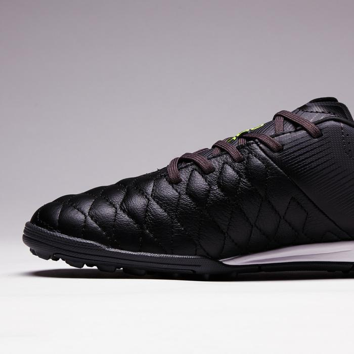 青少年碎釘足球鞋Agility 700 HG-黑色/灰色