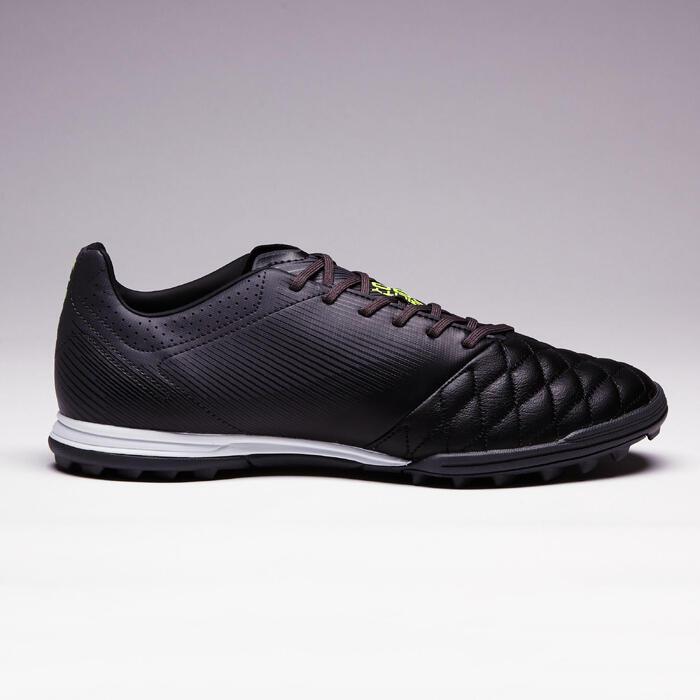 Chaussure de football adulte terrains durs Agility 700 HG noire grise - 1353385