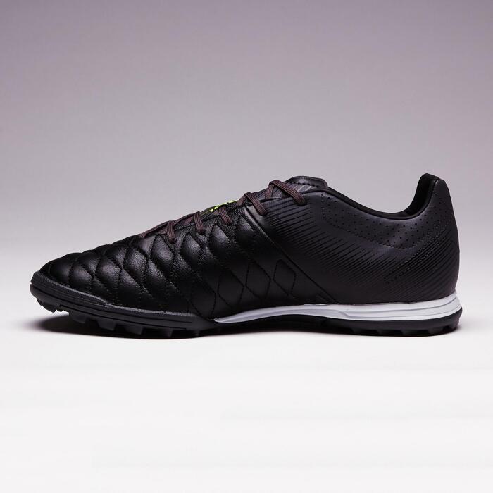 Chaussure de football adulte terrains durs Agility 700 HG noire grise - 1353386