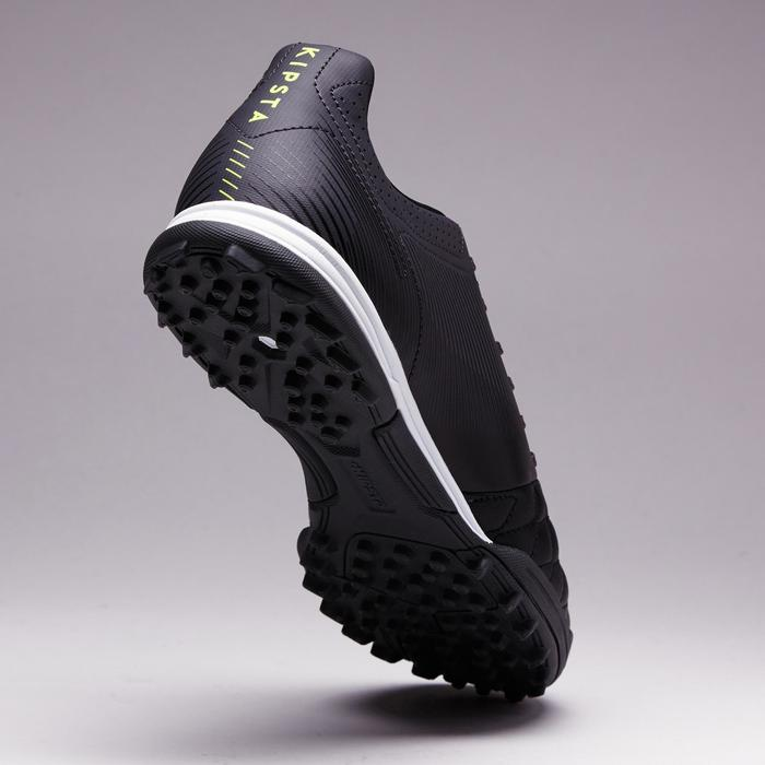 Chaussure de football adulte terrains durs Agility 700 HG noire grise - 1353387