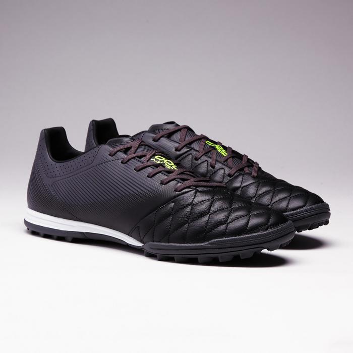 Chaussure de football adulte terrains durs Agility 700 HG noire grise - 1353390