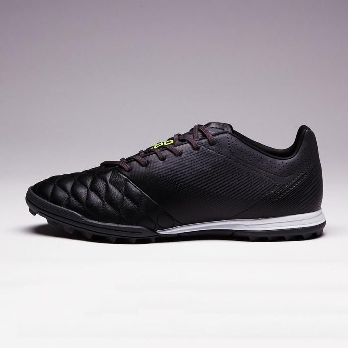 Chaussure de football adulte terrains durs Agility 700 HG noire grise - 1353391