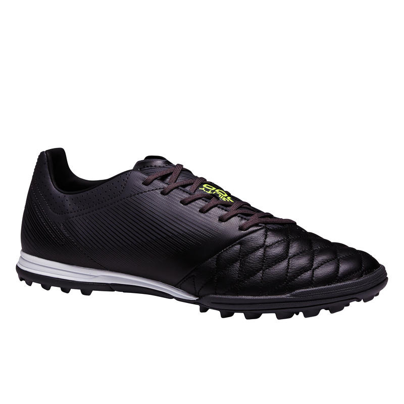 Agility 700 HG Leather Adult Hard Ground Soccer Shoes - Black