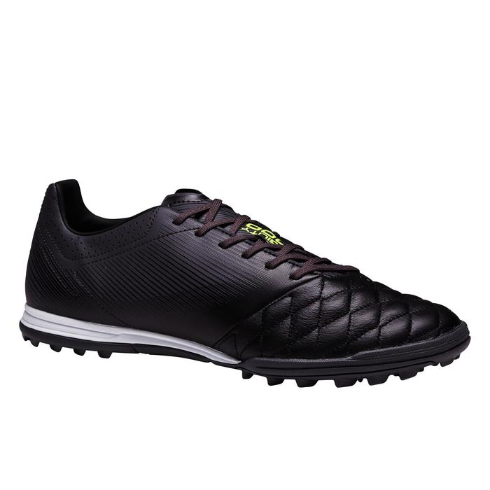 Agility 540 HG Leather Adult Hard Ground Football Boots - Black