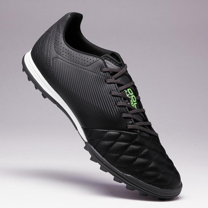 Chaussure de football adulte terrains durs Agility 700 HG noire grise - 1353394
