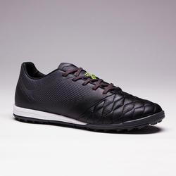 Chaussure de soccer adulte terrain dur Agilité 700 cuir HG noire